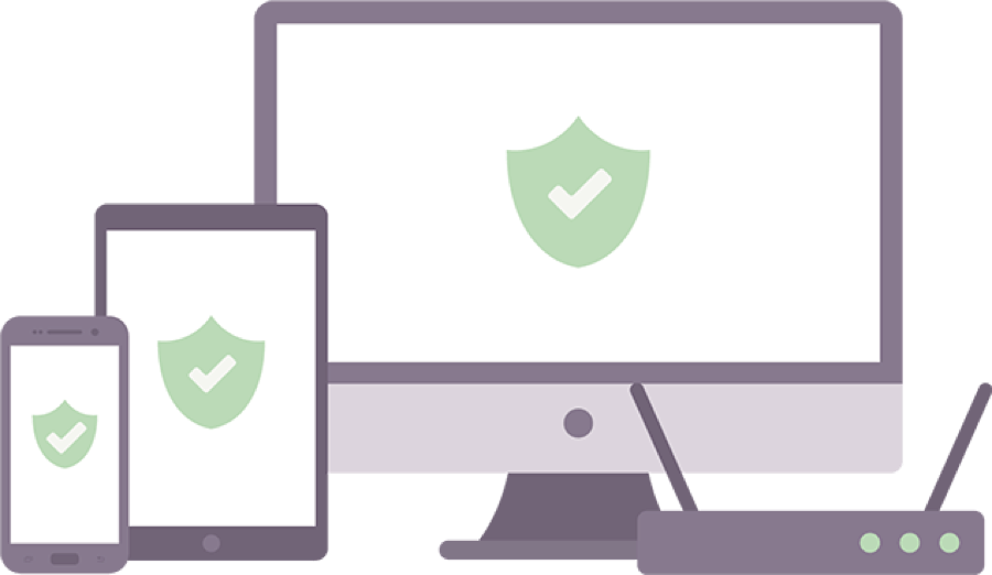 VPN protection on phones, tablets, computers, routers, and more.